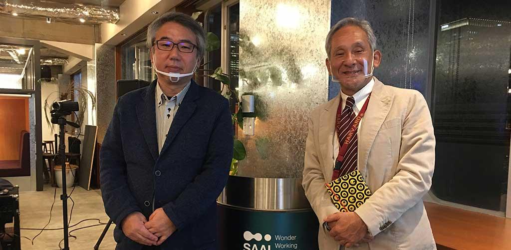 CR-SIS公開講座よりジャパンハート吉岡医師と米倉学長
